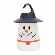 Smile LED Lantern - Christmas Snowman