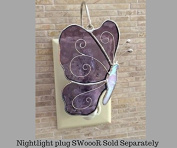 Switchables Butterfly Purple/White