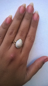 Luxmi Kaudi / Kawri Ring Natural in Ashtadhatu