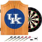 Trademark Gameroom University of Kentucky Wood Dart Cabinet Set - Fade