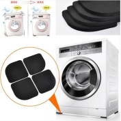 Washing Machine Shock Pads Non-Slip Mats Refrigerator Anti-Vibration Pad 4Pcs/Set^