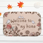 Lopkey Welcome to My Home Doormat 60cm By 40cm