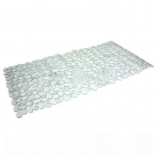 VORCOOL Stone Pattern Design Large Strong Suction Anti-Slip Bath Mat