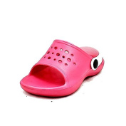 Childrens open toe clog style rubber sandals