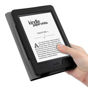 Fintie Folio Case for Kindle Paperwhite - The Book Style PU Leather Cover with Auto Sleep/Wake Feature for All-New Amazon Kindle Paperwhite (Fits All 2012, 2013, 2015 and 2016 Versions), Black