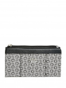 GUESS Women's Flowing Logo Fold-Over Wallet