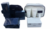 CANALI BLACK DIAMOND BIG GIFT SET includes 1 AFTER SHAVE 100ml ,1 SHOWER CREAM 200ml, 1 Toiletry set, 2 ALL OVER SHOWER GEL, 10 VIALS, and 2 TRAVEL POUCHES ITALY. Simply the BEST!