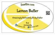 LEMON BUTTER - 100 % Pure and all Natural - For Skin, Hair and Nail Care. With vitamin E, omega 3 and lecithin - Refreshing butter - large 240ml Jar