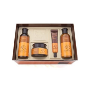 Farm stay Jeju Mayu Complete Skin Care 4 Set,Clean Jeju Horese Oil Contained