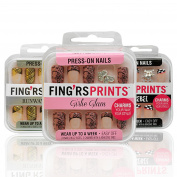 Fingrs Prints Press-On Nails Set