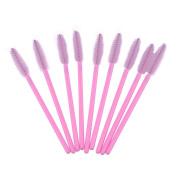 Alonea 100 PCS Disposable Eyelash Mini Brush Mascara Applicator Spoolers Makeup