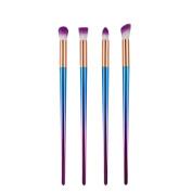 Alonea 4PCS Make Up Foundation Eyebrow Eyeliner Blush Cosmetic Concealer Brushes