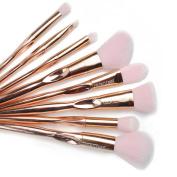 colour CLEANER Makeup Brush Set Professional Premium Synthetic Foundation Blush Concealer Contour Highlight Blend Eyeshadow Face Cream Powder Liquid Cosmetics Brushes Kit