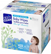 Nice 'n Clean Unscented Baby Wipes, 432 Count