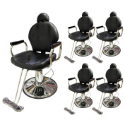 TMS LOT 5~All Purpose Reclining Hydraulic Barber Chair Salon Spa Equipment Wholesale