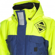 FLADEN RESCUE SYSTEM - Blue and Yellow SCANDIA Flotation Jacket - Marine Buoyancy and Thermal Protection - EN 393 Certified