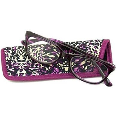 Foster Grant eyesential Hailey Women's Eyeglass Frames, DD1 Purple+1.75