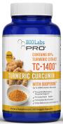 Turmeric Curcumin -  .   - Turmeric Curcumin with Bioperine® 1400mg - Fight Inflammation - Relieve Pain - PRO Strength Blend TC-1400™ - Maximum Absorption - 95% Curcuminoids