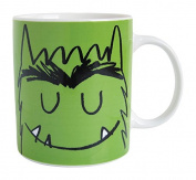 laroom 14117 Mug - Monster Of Emotions - Calm, Green