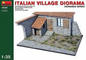 Miniart Kids Hobby Military Toy Italian Village Diorama by MiniArt Plastic Models