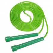 Plastic Long Jump Rope Skipping Gym Speed Fitness #Green