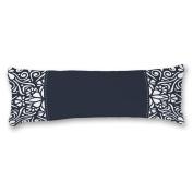 Yiuejiu Navy Mandala Pattern Body Pillow Cover Decorative Pillowcase 50cm x 140cm