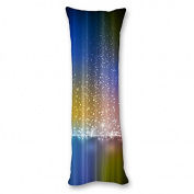 Yiuejiu Leave A Little Sparkle Body Pillow Cover Decorative Pillowcase 50cm x 140cm