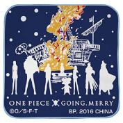 Most lottery ONE PIECE One Piece Straw Hat Pirates, voyage trajectory G Award dramatic handkerchief towel blue single item of Banpresto BANPRESTO