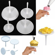 Grocery House 4PCS Cupcake Icing Cream Decorating Nail Tool Cake Flower Needle