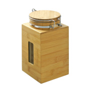 FURINNO FK8960 Dapur Bamboo Tight Canister, Natural