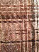 Berkshire Serasoft Blanket Sturbridge Plaid, Mocha