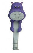 Rubber Duckie & Friends RDNF-H Child's Bath and Shower Wand, Hippo