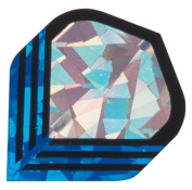 Pack of 15 Silver Blue in 2D Holographic Flight 802903