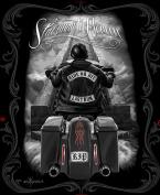 Ride or Die Motorcycle Stairway to Heaven Queen Size Luxury Royal Plush Blanket 200cm x 240cm