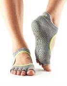 ToeSox Women's Bellarina Half Toe Grip Non-Slip for Ballet, Yoga, Pilates, Barre Toe Socks
