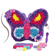VKOPA Child Manual DIY Creative Puzzle Toy Kitten Pillow Cloth Material Package-Butterfly