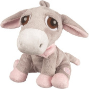 Suki Baby L'il Peepers Luna Donkey Soft Boa Plush Toy with Press Activated Music (Pink) by Suki Baby