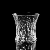Huappo Tumbler Glasses Barware Lead Free Cup for Home Bar Drinking Whiskey Wine Vodka 210ml, Set of 6