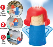 Union Tesco 3PCS Microwave Cleaner Healthy Kitchen Kitchen Gizmo, Angry Mama Microwave Cleaner Tool