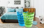 Laundry Basket Home Clothes Washing Flexi Large Flexible Tall Clothing