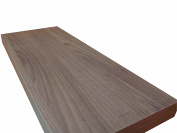 VE.ca-italy Wood Shelf 100 x 23 x 4 cm Quality of Made in Italy 6 Different Colours walnut