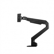ATDEC Sit to Stand Mode, Heavy Duty Single Display Desk Mount, Black