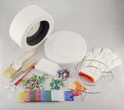 14 in 1 Professional Microwave Kiln Kit For DIY Jewellery Glass Fusing
