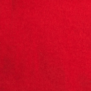Warm Winter Fleece Solid Red Fabric By The Yard