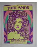 Tori Amos Silk Screen Poster David Dean Graphic Design