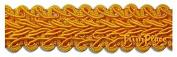 Gimp Braid Trim - Flag Gold - 1.9cm - 12 Yards