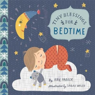Tiny Blessings: For Bedtime (Large Trim) [Board Book]