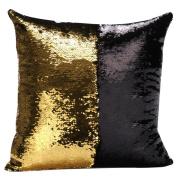 RoseSummer Reversible Sequin Mermaid Glitter Sofa Cushion Cover Pillow Cases