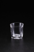 Huappo Crystal Tumbler Glasses Barware Lead Free Cup for Drinking Whiskey Wine Vodka 260ml, Set of 6
