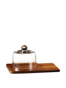 American Atelier Madera Cheese Board Set, Brown